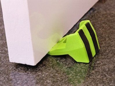 Wedge-It in Use u2013 Floor ... & Wedge-It Door Wedge - Clareyu0027s Safety Equipment