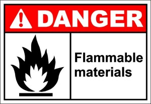 Flammable substance storage