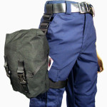 430BK Gas Mask/Respirator Bag