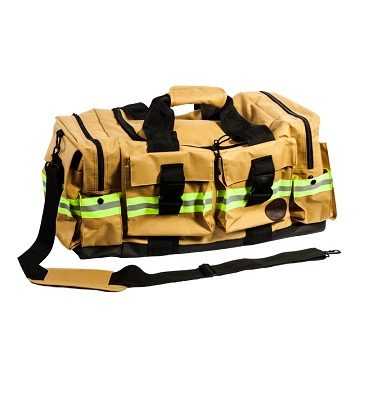 Fireflex Duffle Bag Gold