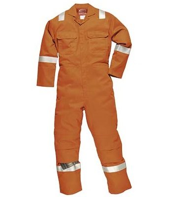 Iona Flame Resistant Coverall - Orange