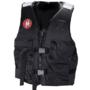 First Watch 4-Pocket Crew Vest – Black