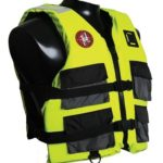 First Watch 4-Pocket Crew Vest - Hi-Vis Yellow