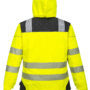 Portwest T400 Vision Rain Jacket-Yellow-back