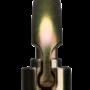 CMC Steel_Locking_D_Carabiner Gold Top