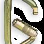 CMC Steel_Locking_D_Carabiner Open