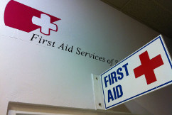 first aid services -